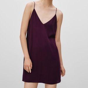 Aritzia Wilfred Free Vivianne Slip Cami Dress